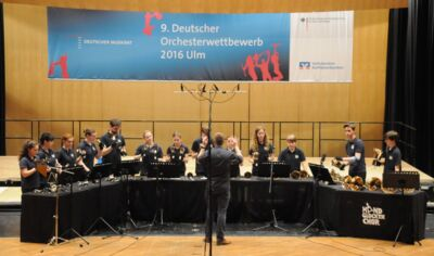 Handbell Choir Gotha at the 9. German Orchestra Competition in Ulm