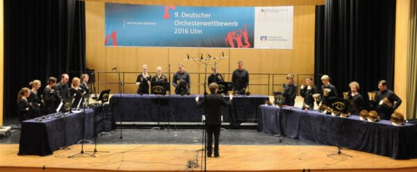 Handbell Choir Wiedensahl at the 9. German Orchestra Competition in Ulm